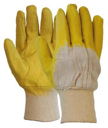 Latex Gedompelde Handschoen Met Open Rugzijde 10