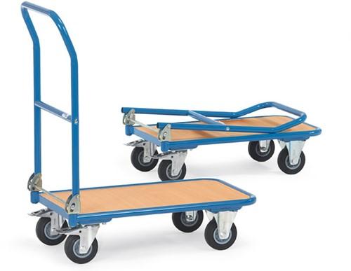 Opklapbare platformwagen KW 1 Laadvlak 720 x 450 mm