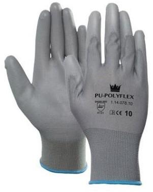 PU-Polyflex Handschoen Grijs 7