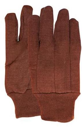 Jersey Handschoen Bruin 255 Grams Bruin 10