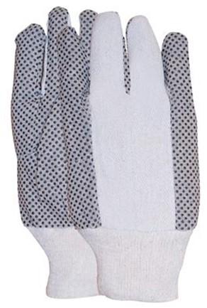 Polkadot Handschoen Met Zwarte PVC Nopjes 10