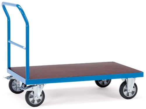 Platformwagen met open duwbeugel 12502 Laadvlak 1.000 x 700 mm