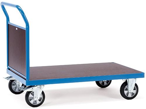 Platformwagen met gesloten duwbeugel 12512 Laadvlak 1.000 x 700 mm