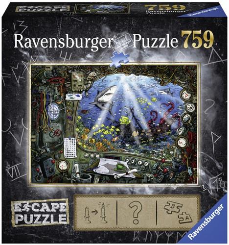 Escapepuzzel Ravensburger De onderzeeër 759 stukjes