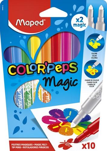 Viltstift Maped Magic blister à 10 stuks ass