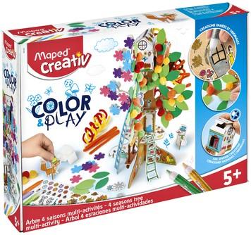 Knutselset Maped Color&Play 4 seizoenen boom