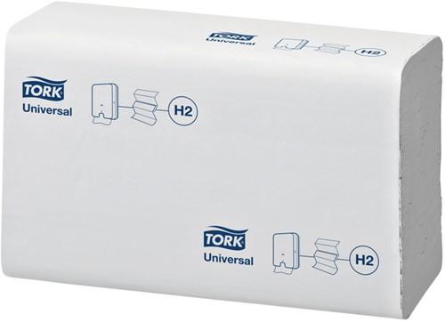 Handdoek Tork H2 150299 Universal 2laags 21x23cm 20x237st