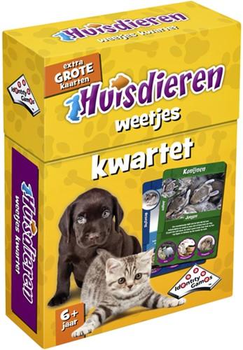 Kwartet huisdieren weetjes