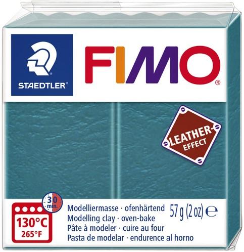Klei Fimo  leather-effect 57 gr lagune