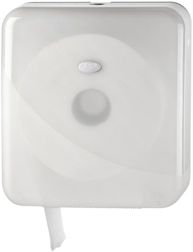 Dispenser Euro Pearl toiletrolhouder maxi wit