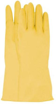 Latex Huishoudhandschoen Geel 7