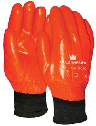 PVC 47-500 Handschoen Fluo Oranje 10