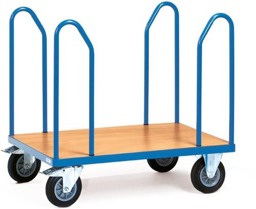 Platformwagen 1582 - 4 zijbeugels Laadvlak 1.000 x 700 mm