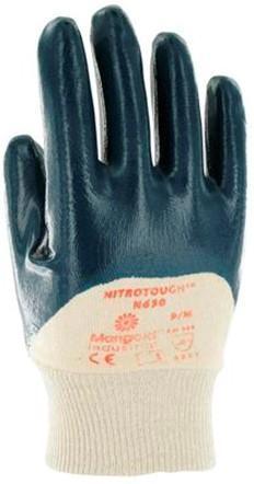 Ansell Nitrotough N630 Handschoen Blauw/wit 10