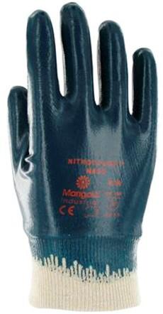 Ansell Nitrotough N650 Handschoen Blauw/wit 10