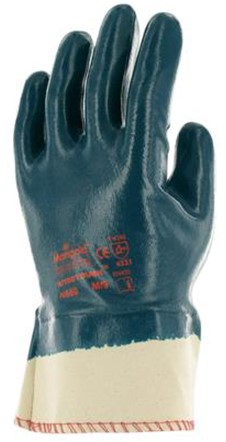 Ansell Nitrotough N660 Handschoen Blauw/wit 10