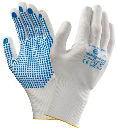 Ansell Picolon Confort Handschoen Wit/blauw 9