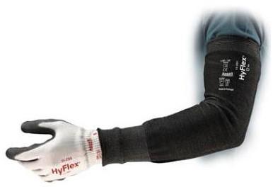 Ansell HyFlex 11-250 Armbeschermer Wide 406mm Zwart One Size - 406 mm