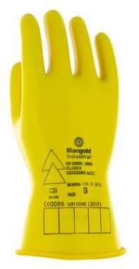 Ansell Electrician E014Y Handschoen Geel 9
