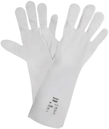 Ansell AlphaTec 02-100 Handschoen Wit 8