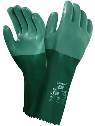 Ansell Scorpio 08-354 Handschoen Groen 10