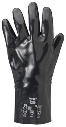 Ansell AlphaTec Solvex 09-922 Handschoen Zwart 10