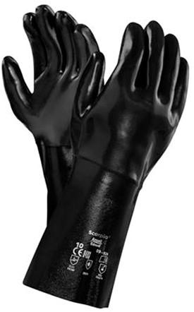 Ansell AlphaTec Solvex 09-924 Handschoen Zwart 10