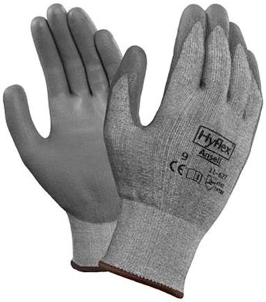 Ansell HyFlex 11-627 Handschoen Grijs 9