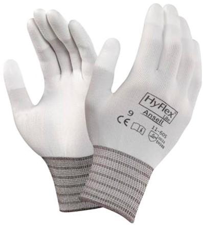 Ansell HyFlex 11-605 Handschoen Wit 8