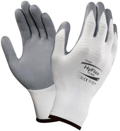 Ansell HyFlex 11-800 Handschoen Grijs/wit 11