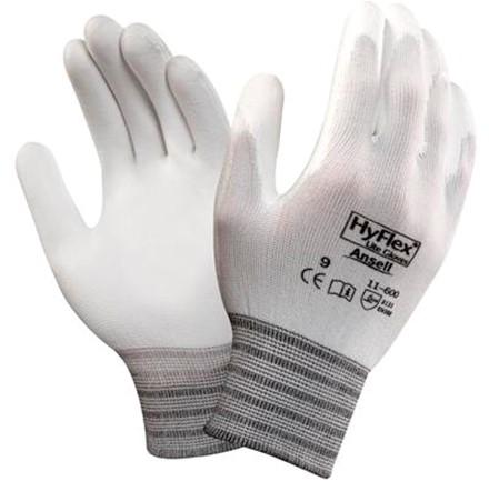 Ansell HyFlex 11-600 Handschoen Wit 8