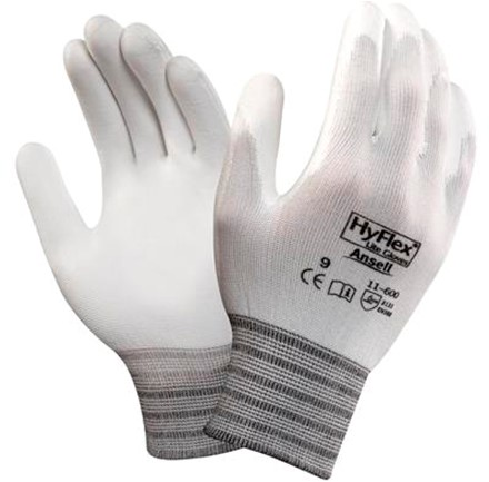 Ansell HyFlex 11-600 Handschoen Wit 11