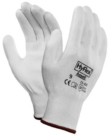 Ansell HyFlex 11-625 Handschoen Wit 10