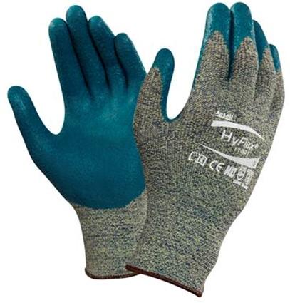 Ansell HyFlex 11-501 Handschoen Blauw/grijs 6