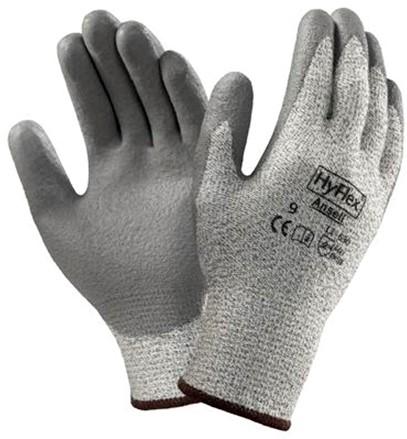 Ansell HyFlex 11-630 Handschoen Grijs 8