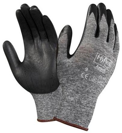 Ansell HyFlex 11-801 Handschoen Zwart/grijs 8