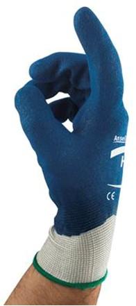 Ansell HyFlex 11-919 Handschoen Blauw/wit 8