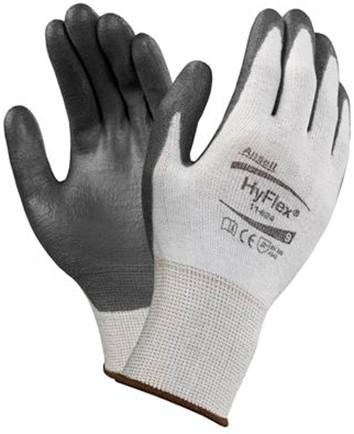 Ansell HyFlex 11-624 Handschoen Zwart/grijs 6