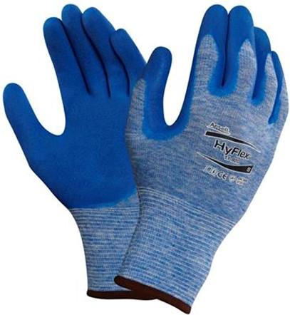 Ansell HyFlex 11-920 Handschoen Blauw 8