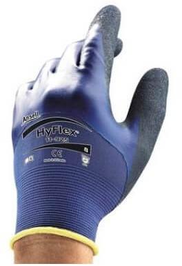 Ansell HyFlex 11-925 Handschoen Blauw 6