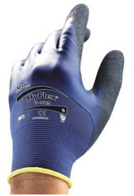 Ansell HyFlex 11-925 Handschoen Blauw 11