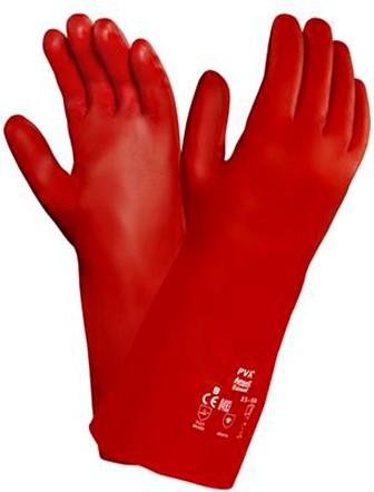 Ansell AlphaTec 15-554 Handschoen Rood 9