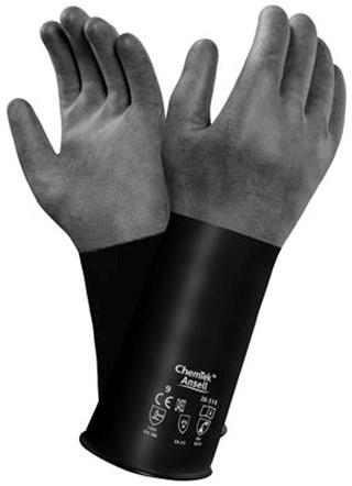 Ansell AlphaTec 38-514 Handschoen Zwart 8