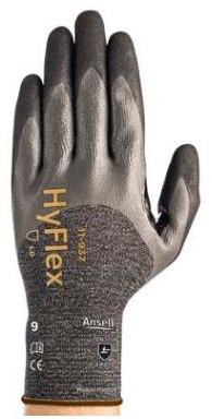 Ansell HyFlex 11-937 Handschoen Grijs/zwart 6