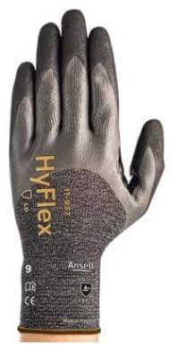 Ansell HyFlex 11-937 Handschoen Grijs/zwart 9