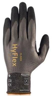 Ansell HyFlex 11-939 Handschoen Grijs/zwart 6