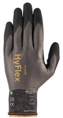 Ansell HyFlex 11-939 Handschoen Grijs/zwart 9