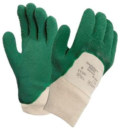 Ansell Gladiator 16-500 Handschoen Groen/wit 8