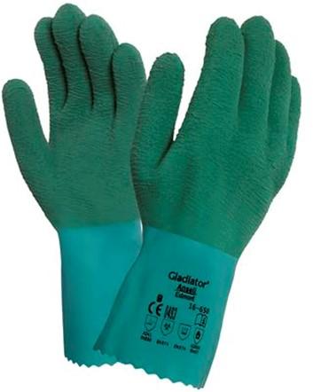 Ansell AlphaTec 16-650 Handschoen Groen 7