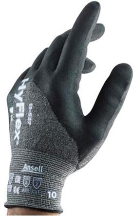 Ansell HyFlex 11-537 Handschoen Grijs 6
